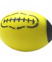 American football bal geel