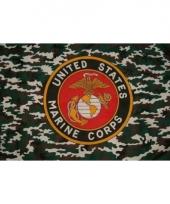 Amerikaanse militaire vlag mariniers