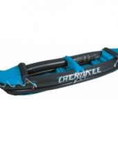 Antraciet grijze opblaas kano