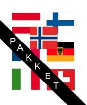 Apres ski versiering landen stickers