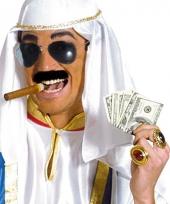 Arabieren setje met bril snor en sigaar