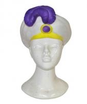 Arabische prins hoed in het wit