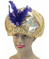 Arabische tulband goud