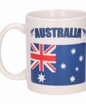 Australische vlag koffiebeker