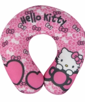 Autokussen van hello kitty roze