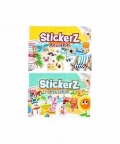 Autoraam stickers set strand dieren thema