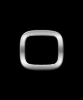 Autostickers cijfer 0 chrome kleur