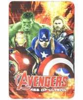 Avengers vuur fleece deken voor jongens