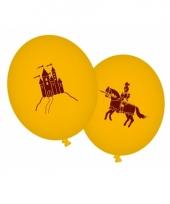 Ballon draken en ridders