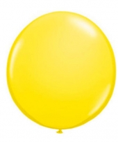 Ballon qualatex 90 cm geel
