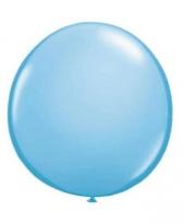 Ballon qualatex 90 cm licht blauw