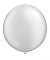 Ballon qualatex 90 cm zilver