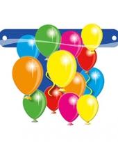 Ballon teken voor op banner