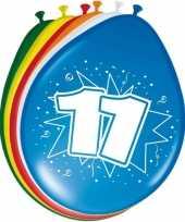 Ballonnen 11 jaar 30 cm 10122991