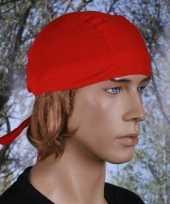 Bandana rood uni 1