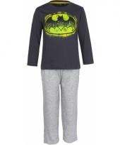 Batman logo pyjama zwart
