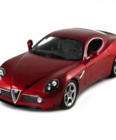 Bburago model auto alfa romeo c8 conpetizione 13 cm