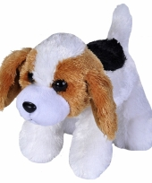Beagle honden knuffeltje 18 cm