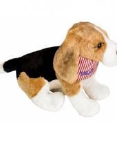 Beagle puppy knuffel 25 cm