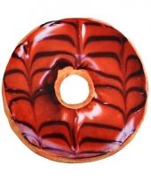 Bed kussen bruine donut 10071787