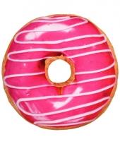 Bed kussen roze donut