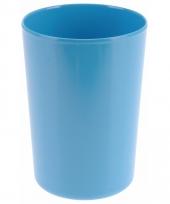 Beker melamine blauw 300 ml