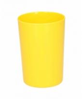 Beker melamine geel 300 ml
