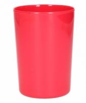 Beker melamine rood 300 ml