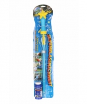 Bellenblaas toverstok blauw 53 cm