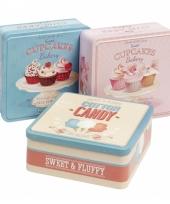 Bewaarblik vierkant cupcake 10069816