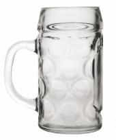 Bier glazen 1 liter