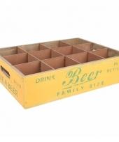 Bier tray met 12 vakken