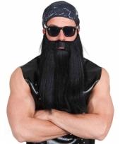 Biker baard