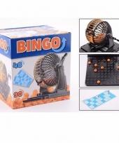 Bingo spel met molen en bingokaarten