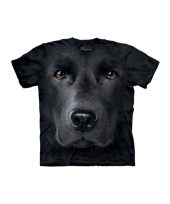 Black lab face shirt the mountain 10072247