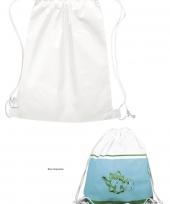 Blanco tas om te versieren
