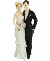 Blank hetero bruidspaar