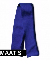 Blauw knuffel shawltje met ruimte voor boodschap