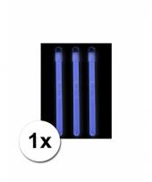 Blauw lichtstaafje neon