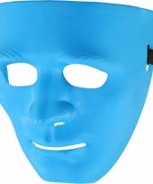 Blauw masker voor volwassenen