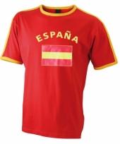 Blauw t-shirt met espana print man