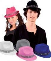 Blauwe hoedjes met studs