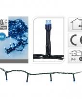 Blauwe kerstverlichting 180 lampjes