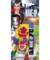 Blauwe make up applicator