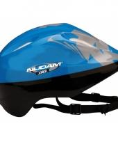 Blauwe sport helm voor kids