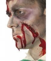 Bloederige verwonding schmink