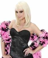 Boa zwart roze 180 cm