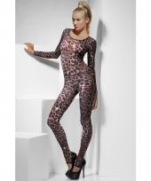 Bodysuit met jachtluipaard print