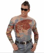 Bodysuit tijger tattoeage