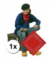 Boeren rode bandana zakdoek